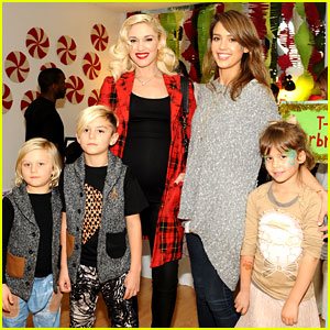 Jessica Alba & Gwen Stefani: Baby2Baby Holiday Party!