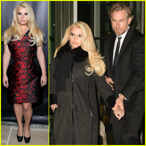 Jessica Simpson: Footwear News Achievement Awards 2013