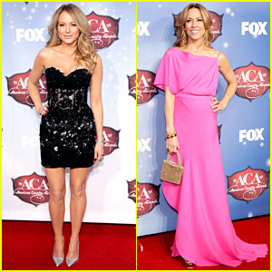 Jewel & Sheryl Crow - ACAs 2013 Red Carpet