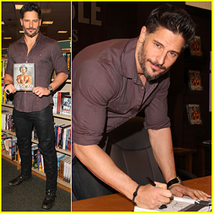 Joe Manganiello: 'Evolution' Barnes & Noble Book Signing!