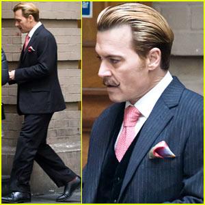 Johnny Depp Films 'Mortdecai' After 'Alice in Wonderland 2' News