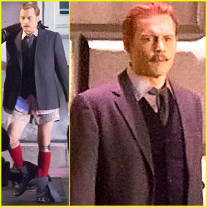 Johnny Depp's Pants Fall to the Ground on 'Mortdecai' Set (Pics)