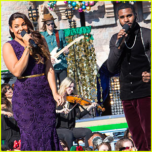 Jordin Sparks & Jason Derulo Duet 'Baby It's Cold Outside' for Christmas Parade (Video)