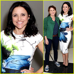 Julia Louis-Dreyfus Gets Scared by Julia Roberts - Watch Now!