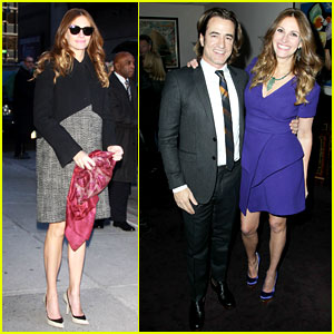 Julia Roberts & Dermot Mulroney: 'August: Osage County' NYC Premiere!