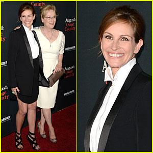 Julia Roberts & Meryl Streep: 'August: Osage County' L.A. Premiere!