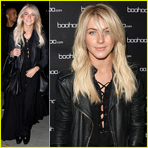 Julianne Hough: Beyonce's 'Mrs. Carter Tour' Viewing Party!