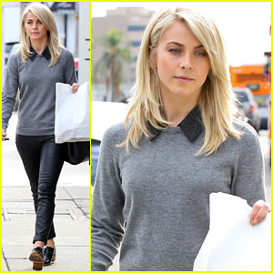 Julianne Hough Grabs Take-Out To Go at Cuvee!