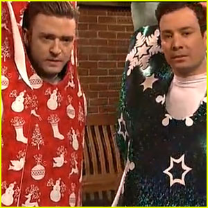 Justin Timberlake & Jimmy Fallon: SNL's 'Bring It On Down To Wrapinville' - WATCH NOW!