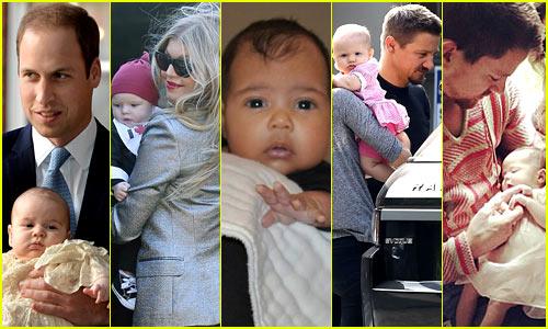 Just Jared's Celebrity Baby Birth Recap 2013
