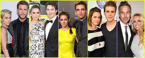 Just Jared's Celebrity Split Recap 2013