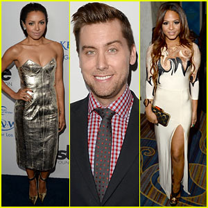 Kat Graham & Lance Bass: Make-A-Wish Los Angeles Gala