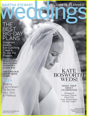 Kate Bosworth Covers 'Martha Stewart Weddings' Winter Issue!