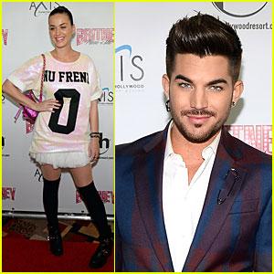 Katy Perry & Adam Lambert: 'Britney: Piece of Me' Supporters!