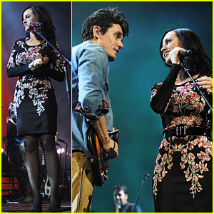 Katy Perry: Surprise Performer at John Mayer's Brooklyn Concert!