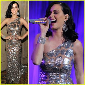 Katy Perry: UNICEF Snowflake Ball 2013 Performer!