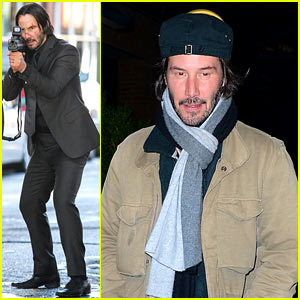 Keanu Reeves Films Action Sequence for 'John Wick'!