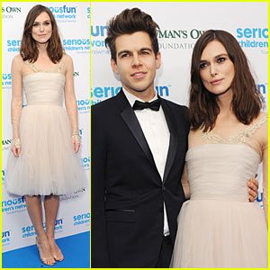 Keira Knightley & James Righton: Serious Fun London Gala!