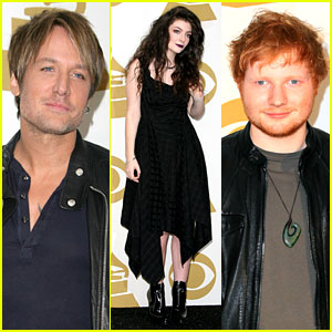 Keith Urban & Ed Sheeran: Grammy Nominations Concert!