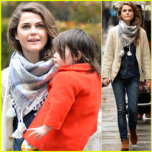 Keri Russell Steps Out with Kids After Shane Deary Split News