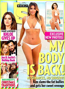 Kim Kardashian Debuts Post-Baby Bikini Body!