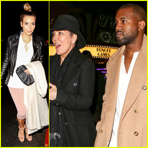 Kim Kardashian & Kanye West: 'Anchorman 2' with the Family!