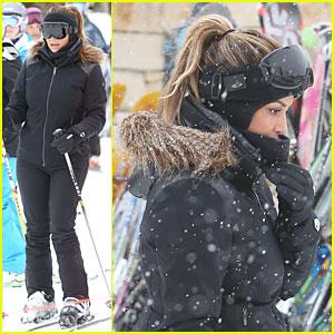 Kim Kardashian: New Year's Eve Skiing with Kourtney!