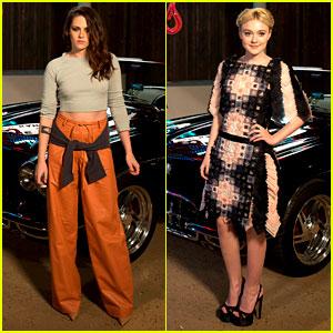 Kristen Stewart & Dakota Fanning: Chanel's Metiers d'Art Show!