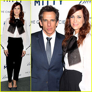 Kristen Wiig & Ben Stiller: Own Real 'Walter Mitty' Props Now!