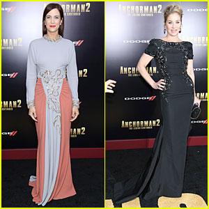 Kristen Wiig & Christina Applegate: 'Anchorman 2' NYC Premiere!