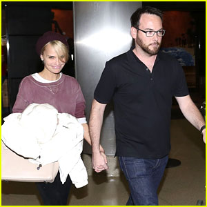 Kristin Chenoweth Holds Hands with Boyfriend Dana Brunetti