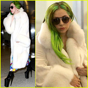 Lady Gaga Flies Out After Christina Aguilera 'Voice' Duet!