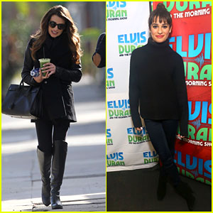 Lea Michele: 'Cannonball' Makes Radio Debut with Elvis Duran!
