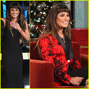 Lea Michele Opens Up About Cory Monteith's Death on 'Ell
