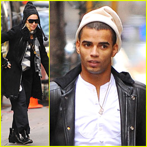 Madonna & Brahim Zaibat: Kabbalah Centre After Thanksgiving!