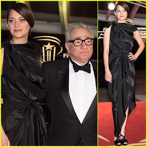 Marion Cotillard: Marrakech Film Festival Awards Ceremony!