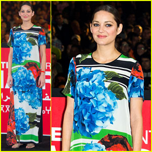 Marion Cotillard: 'Public Enemies' Presentation in Marrakech!