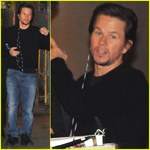 Mark Wahlberg Promotes 'Lone Survivor' on 'Jimmy Kimmel Live!'