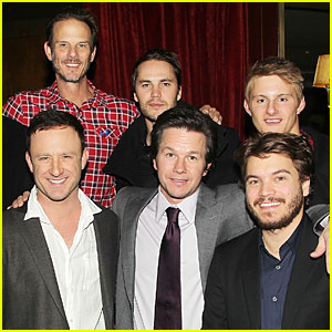 Mark Wahlberg & Taylor Kitsch: 'Lone Survivor' Luncheon!