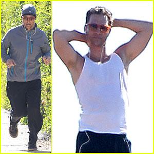 Matthew McConaughey: I Was Nervous to Meet Martin Scorsese!