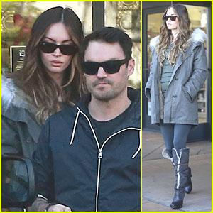 Megan Fox & Brian Austin Green: Planet Beauty Shopping Pair!