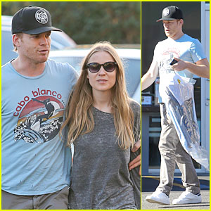 Michael C. Hall & Morgan Macgregor: Fred Segal Shoppers!