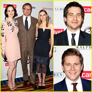 Michelle Dockery: 'Downton Abbey' Season 4 NYC Screening!
