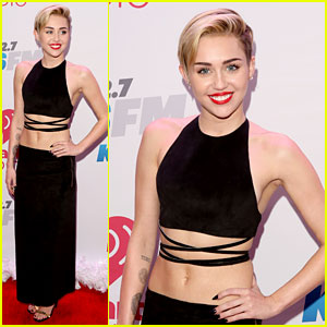 Miley Cyrus: 102.7 KIIS-FM's Jingle Ball 2013 Red Carpet!