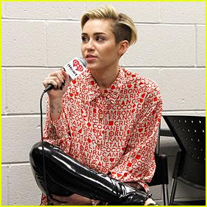Miley Cyrus: Backstage at Power 96.1's Jingle Ball 2013!