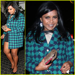 Mindy Kaling: I Like Strong Men, Which Surprises People
