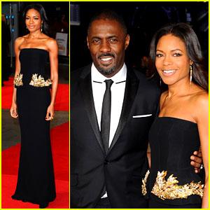 Naomie Harris & Idris Elba: 'Mandela' Royal Premiere Amid Nelson's Death