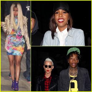Nicki Minaj & Kelly Rowland: Jay Z Concert Ladies!