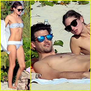 Olivia Palermo & Johannes Huebl: St. Barts Beach Vacation!