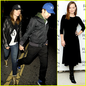 Olivia Wilde: Revlon Event & Date Night with Jason Sudeikis!